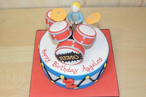 Birthday cake Aggelos